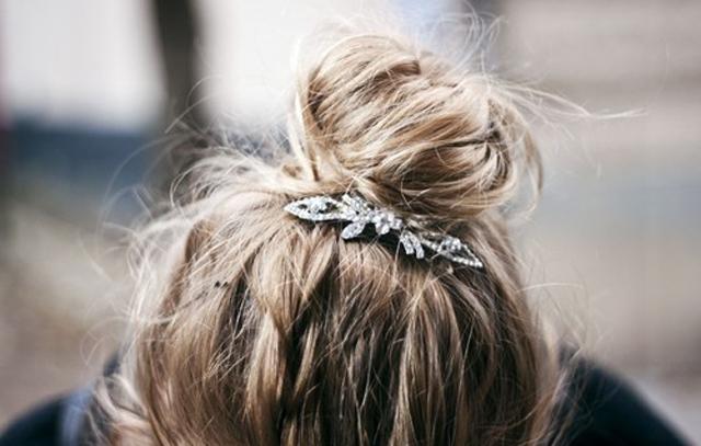 topknot10 mode dans Hair