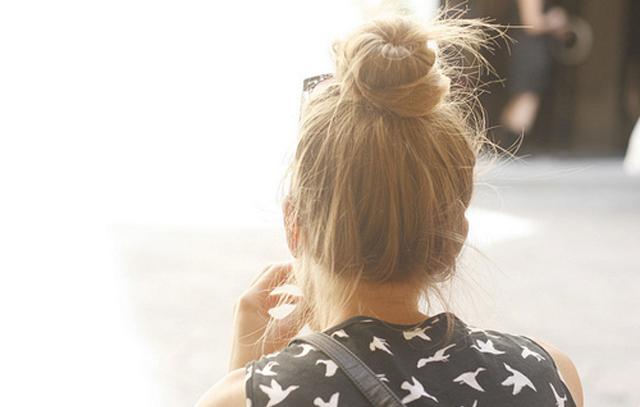 Top Knots dans Hair topknot5